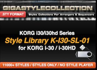 Korg I-30 I30HD – 11200 Styles