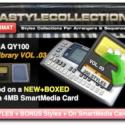 Yamaha QY-100 Vol 03 – 300 Styles – 10000 Phrases