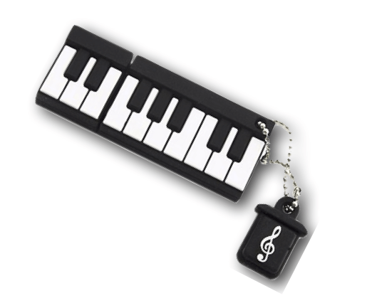 PlanetKeyboard 8GB -Keyboard Octave-USB Stick - флеш-накопитель