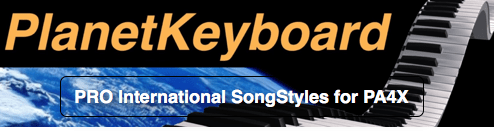 Korg PA4X Individual SongStyle SS0624PA4 ESCRIBO EL SONGS-BRUCE JOHNSTON