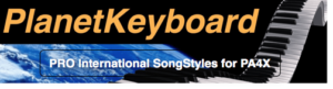 Korg PA4X Individual SongStyle SS0130PA4 BETTE DAVID EYES-KIM CARNES
