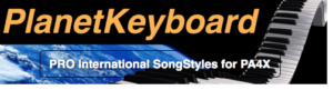 Korg PA4X Individual SongStyle SS1218PA4 TOO MUCH HEAVEN-BEE GEES