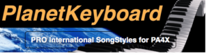 Korg PA4X Individual SongStyle SS1242PA4 WITH OR WITHOUT YOU-U2