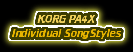 Korg PA4X/PA700/PA1000 Song Styles (Unit)