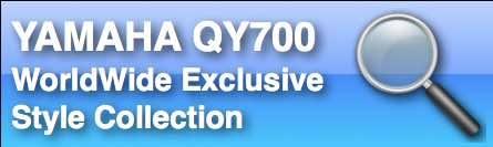 Yamaha QY700 Styles