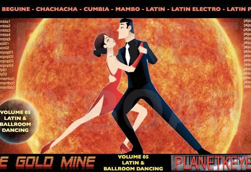 StyleGoldMine Vol 05 Latin Ballroom Roland BK7m seriyasining raqslari