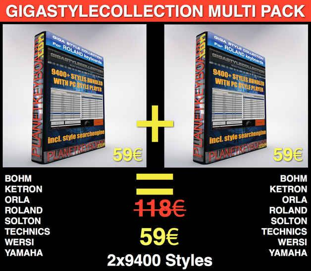 GIGASTYLECOLLECTION TWINPACK LIMITED TIME OFFER