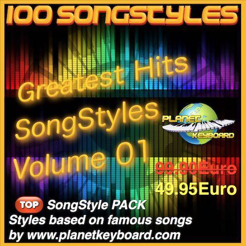 Greatest Hits Song Styles Yamaha Volym 01