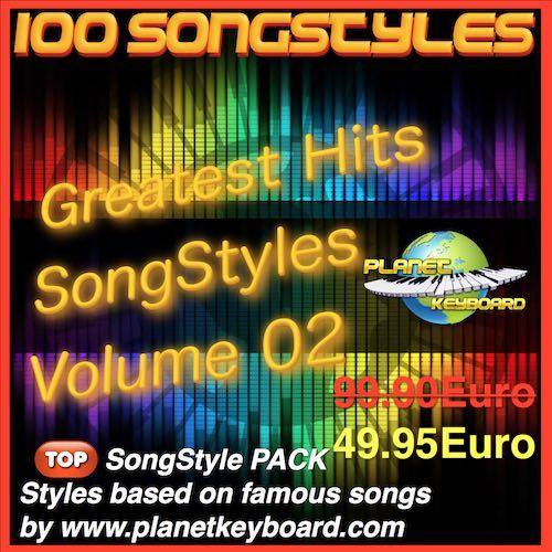 Greatest Hits Song Styles Yamaha Volym 02