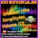 Greatest Hits Song Styles Yamaha Volume 03