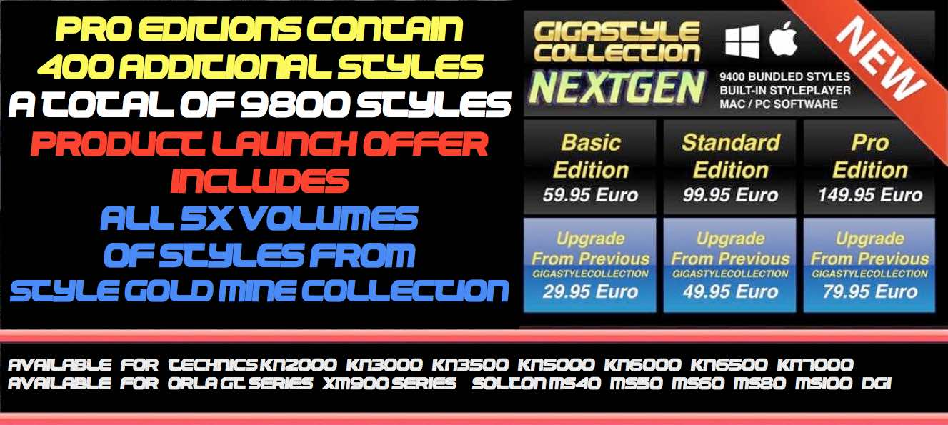 GIGASTYLECOLLECTION NEXTGEN