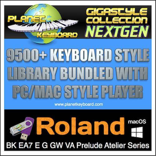 Giga STYLE COLLECTION NEXTGEN ROLAND