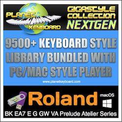 Planet Keyboard - Keyboard Styles for Yamaha Genos Korg PA