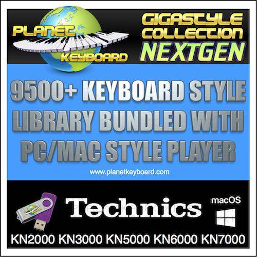 GIGA STYLE COLLECTION NEXTGEN TECHNICS KN