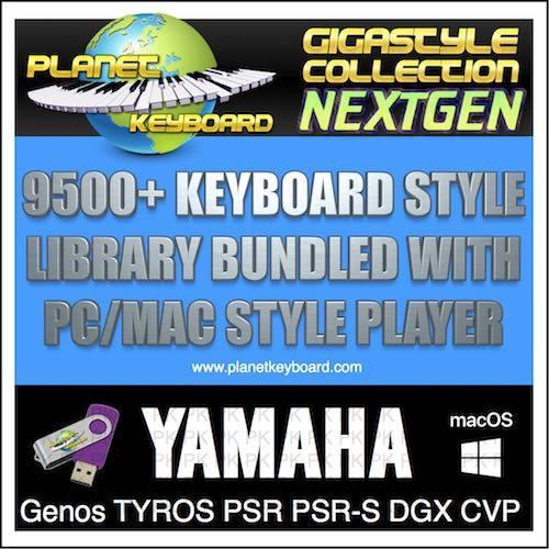 GIGA STYLE COLLECTION NEXTGEN YAMAHA