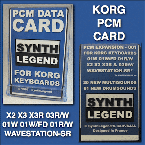 SYNTH LEGEND PCM Sound Card For 01W X2 X3 X3R 03R/W And Wavestation-SR(SR Only)
