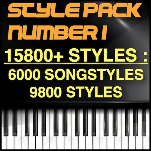 The Big Pack – 15800 Styles : Including GSCNEXTGEN Pro Ed°[9800 Styles] + 3Y. Support + [6000 Song Styles]