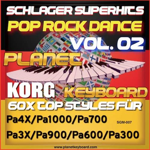 StyleGoldMine 007 – PRO Styles – Schlager SuperHits Pop Rock Dance 2 For KORG