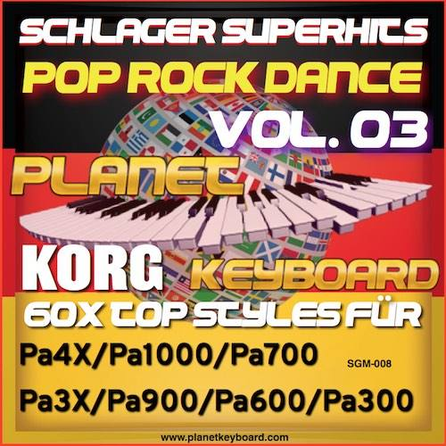 StyleGoldMine 008 – PRO Styles – Schlager SuperHits Pop Rock Dance 3 For KORG